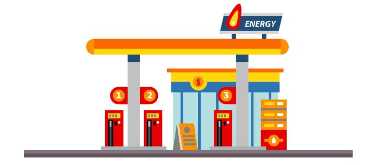 上海加油站数量估算